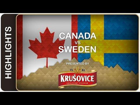 Canada dominates Sweden   Canada-Sweden HL   #IIHFWorlds 2016