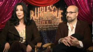 Cher & Stanley Tucci Interview - Which Performer Embodies the Spirit of Christina's Character?