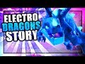 How did the Dragon become The Electro Dragon?   Clash of clans Electro Dragon Origin Story
