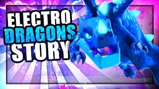 How did the Dragon become The Electro Dragon? | Clash of clans Electro Dragon Origin Story