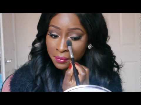 How I Apply My Ben Nye Banana Powder   Contouring & Highlighting   For Darker Skintones