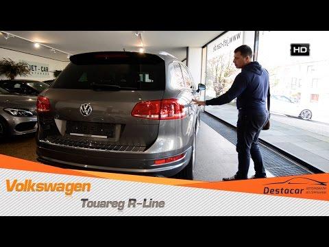 Осмотр VW Touareg R Line 2012 года