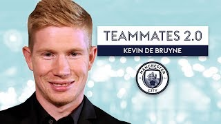 Which Man City player has HORRIBLE dress sense? | Kevin De Bruyne | Teammates 2.0