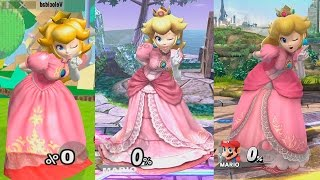 Super Smash Bros Wii U | Peach Evolution