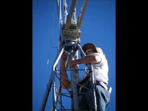 Ham Radio - Putting up a summer-beam 5 element
