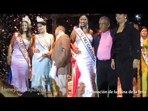 Coronación de Emely Machado, reina de la XLII Feria de la Candelaria