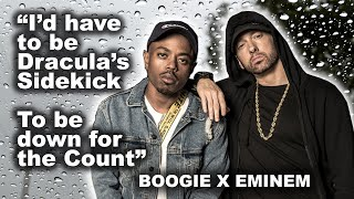 """Eminem Verse on Boogie """"RAINY DAYS"""" - Bars That Went Over Heads (Re-upload)"""