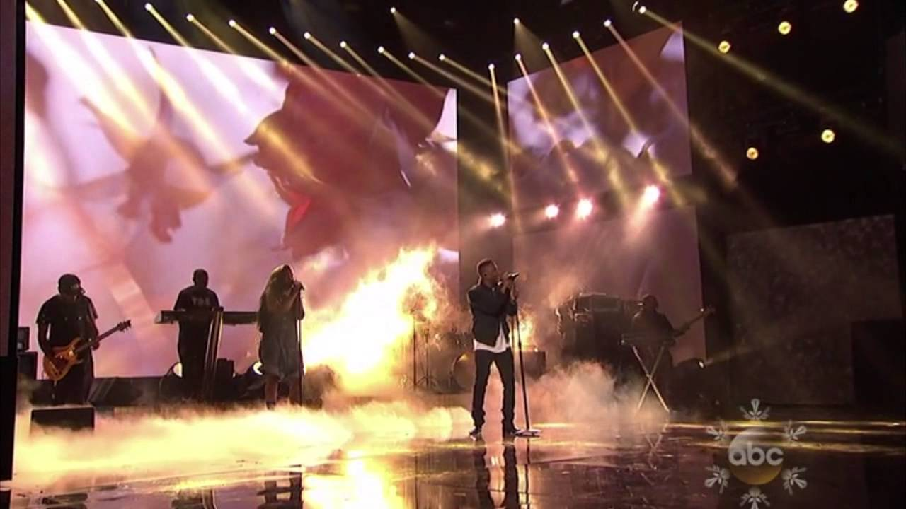 American Music Awards 2013 Kendrick Lamar Swimming Pools Poetic Justice Youtube