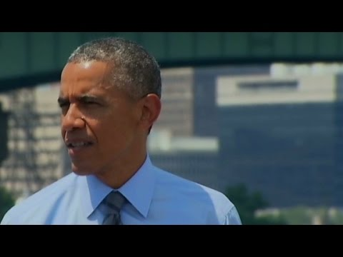 Obama comments on MH17 crash in Ukraine