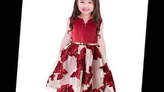 2019 party dress for kids