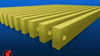 How DURADEK® and DURAGRID® Pultruded Grating is Made