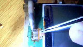 nokia 1202 lcd replacing.wmv