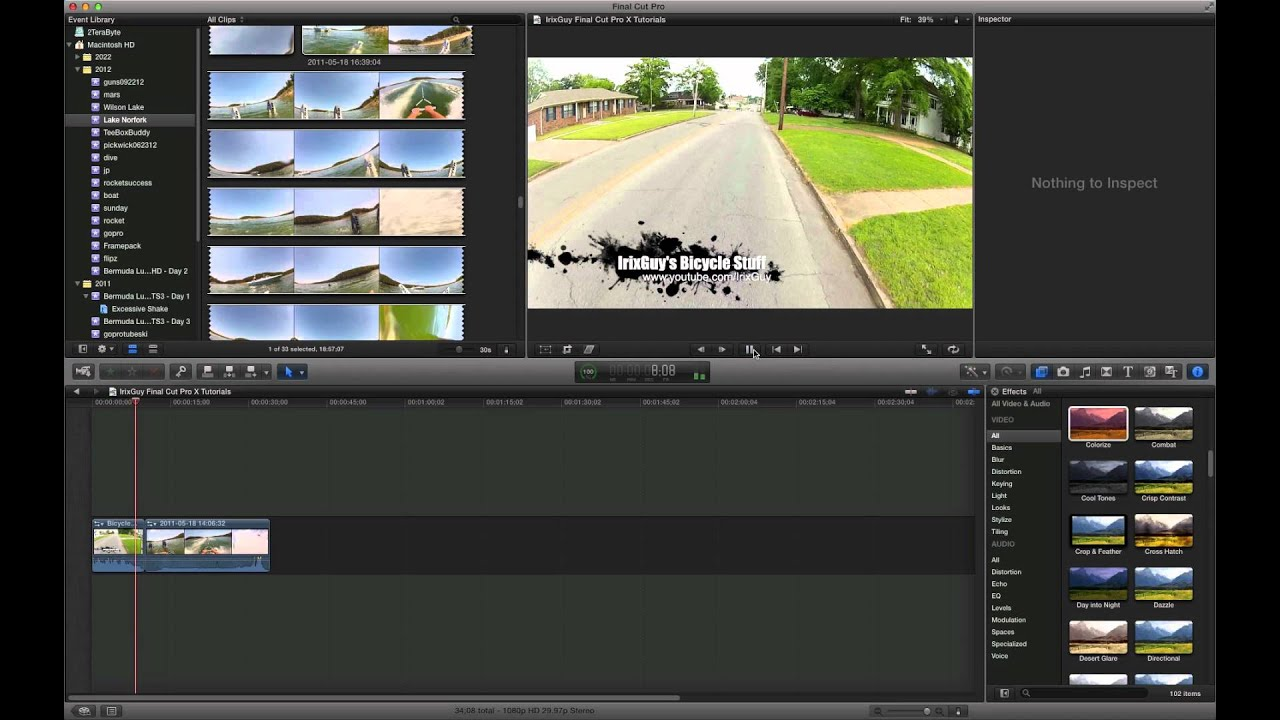 how to create youtube videos using final cut