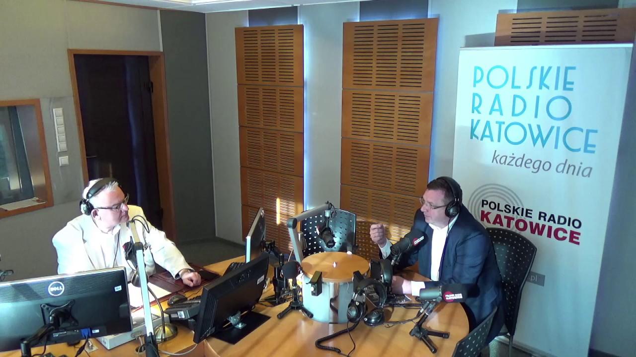 Poranna rozmowa z wiceministrem sprawiedliwości Michałem Wójcikiem, Radio Katowice, 24.7.2017