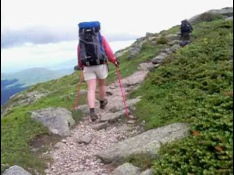 The White Mountains - The Presidential Traverse - Hiking - NH