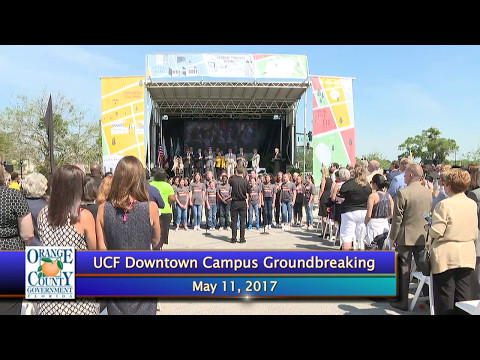 UCF Downtown Campus Groundbreaking