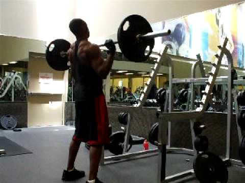 Clean and press 135 pound barbell Image 1