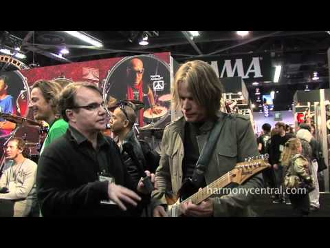 NAMM 2012 - Andy Timmons