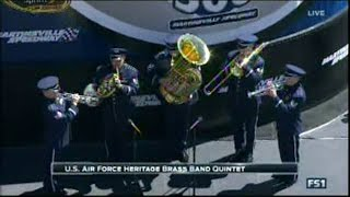The Star Spangled Banner Us Air Force Heritage Brass Band Quintet 04 03 16