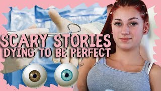 "Danielle Bregoli Reacts to Scary Story ""Dying to be Perfect"" aka Keeping up with the Kardashians"