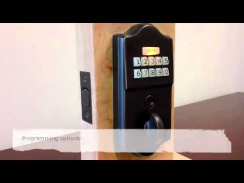 EMTEK How to Use Keypad Door Lock - Glenbrook U