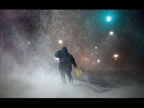 Blizzard Hits Boston and New England, Spares New York...