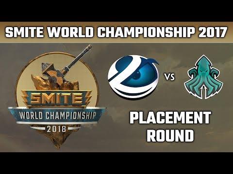 SMITE World Championship 2018: Placement Round - Luminosity vs. Scylla Esports