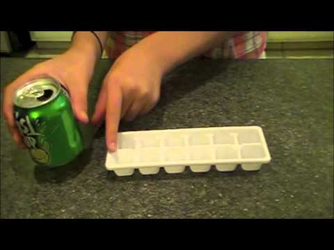 How to make Soda Ice Cubes!