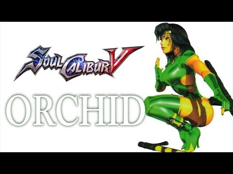 SoulCalibur V Create A Soul - Orchid (Killer Instinct)