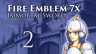 """Part 2: Let's Play Fire Emblem 7x Immortal Sword, Classic Hard - """"Archers From Hell"""""""
