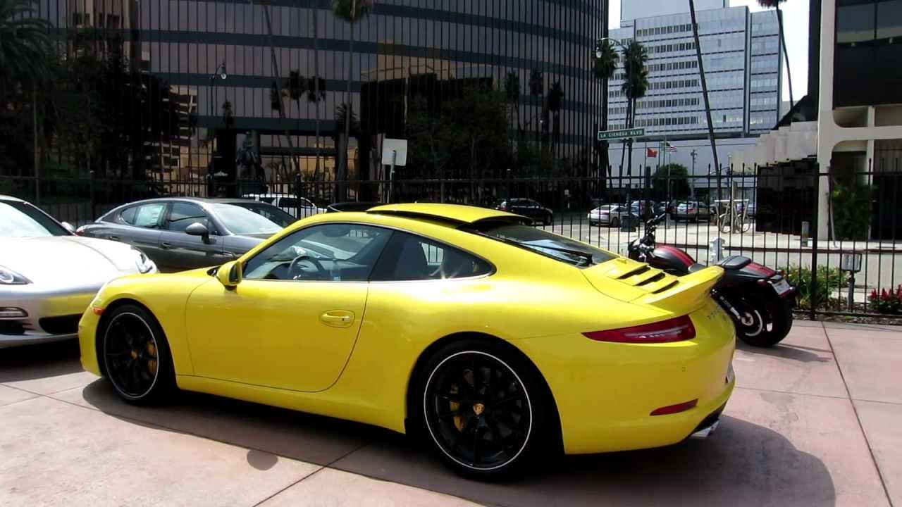 New 2013 Porsche 911 Carrera s