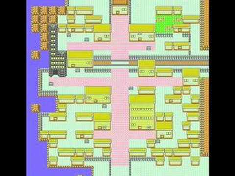 Misc Computer Games - Pokemon Gold Silver Crystal - Goldenrod City