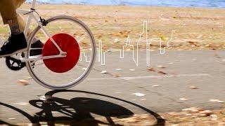 Mobilita' sostenibile: Copenaghen Wheel, per trasformare la bici in e-bike