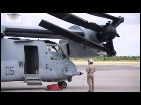 MV-22 Osprey Folding Up At USMC Air Station Futenma, Okinawa | AiirSource