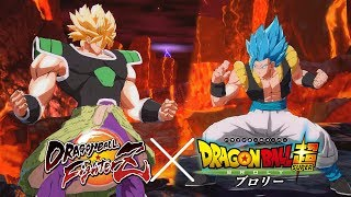 Dragon Ball FighterZ - DBS Broly Base / Full Power Broly Mod Gameplay! (Dragon Ball Super Broly)