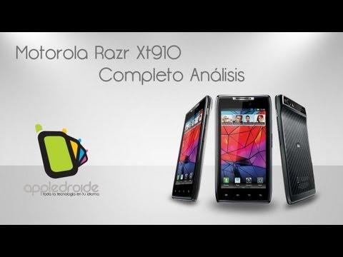 Motorola Razr Xt910 completo análisis y tour por sus aplicaciones