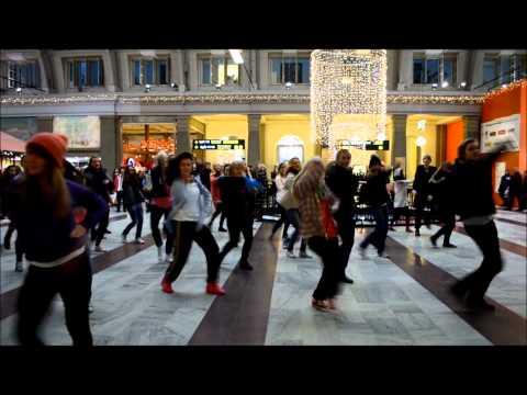 Avicii  LEVELS flashmob contest