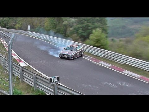 Highlights 09.10 Crash & Spin Touristenfahrten Nordschleife Nürburgring