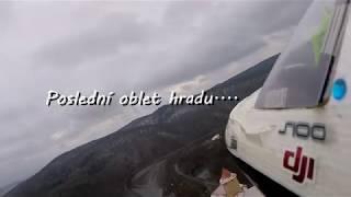 Hrad Veveří z leteckého pohledu