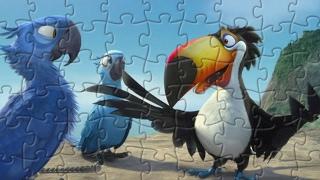 Rio Cartoons - Play jigsaw puzzle games