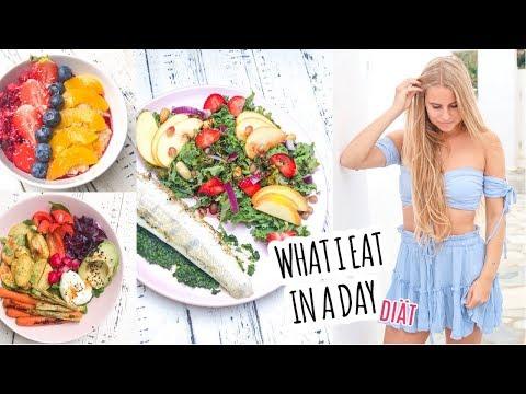 WHAT I EAT IN A DAY #27 I Kalorienangaben, gesund abnehmen in der Diät