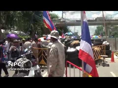 Thailand Protest Anti-Government May 9th in Bangkok #3 09.05.2014