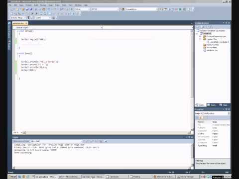 Arduino Programming Tutorial: Visual Studio And Serial Com Port Communctions