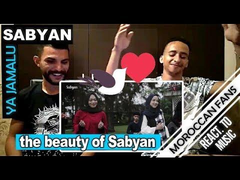 Download Lagu  Arab React To | YA JAMALU Versi SABYAN feat Annisa & El-Alice-English Sub || MOROCCAN REACT Mp3 Free