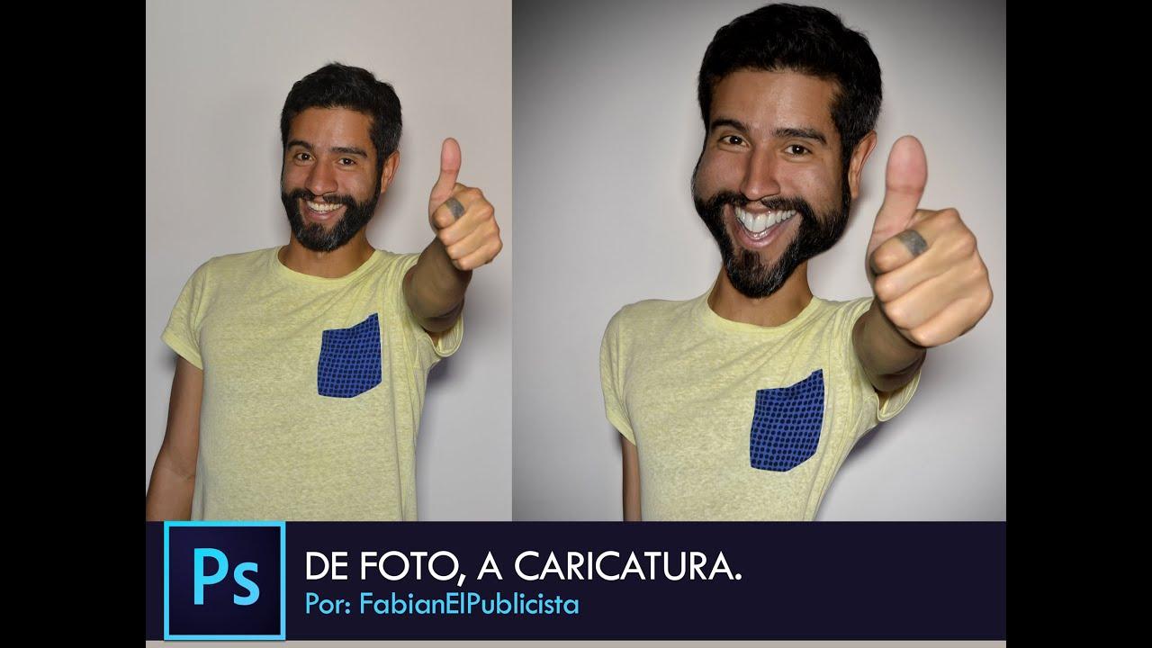 Como hacer mi foto en caricatura en photoshop 25