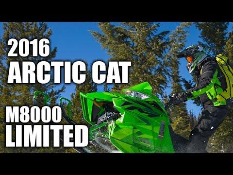 TEST RIDE: 2016 Arctic Cat M8000 SnoPro 153 Limited