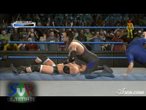 Smackdown Vs. Raw 2009: The Undertaker Pics (PS3/Xbox360) Video