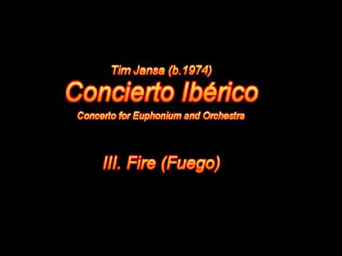 Tim Jansa: Concierto Iberico (for Orchestra) - III. Fire