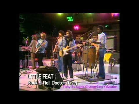 LITTLE FEAT - LIVE '75 - Fat Man In The Bathtub + Rock and Roll Doctor in Dolby