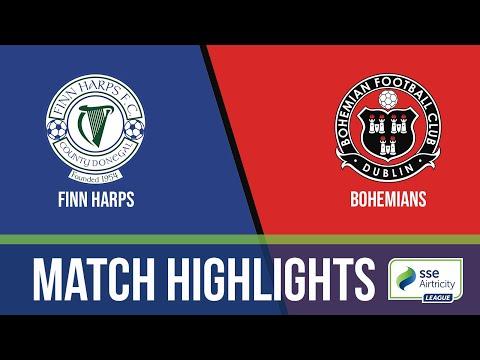 GW10: Finn Harps 0-1 Bohemians